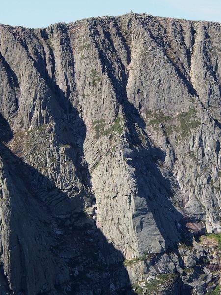 Rock Climbing Photo: Flatiron and Rib to Summit Ridge