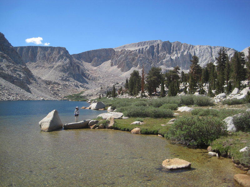 Langley from Cottonwood Lakes.