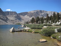Rock Climbing Photo: Langley from Cottonwood Lakes.