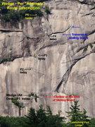 "Rock Climbing Photo: Wedge - per ""Alternate"" Description, som..."