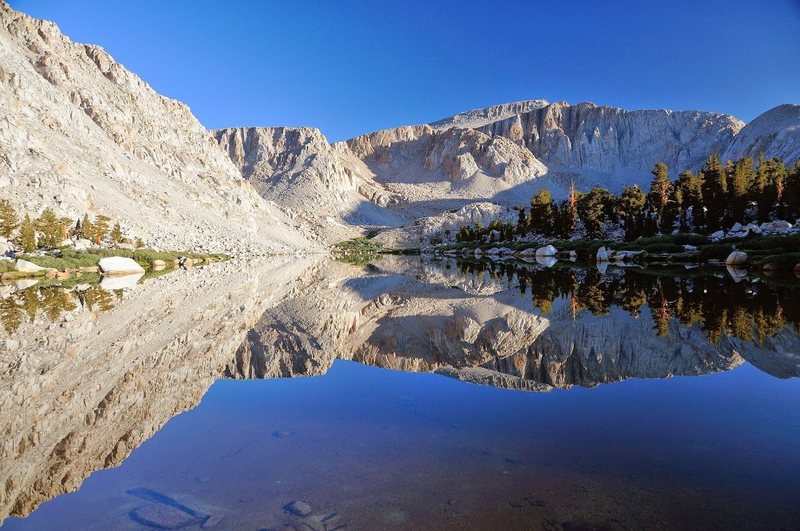 Langley from one of the Cottonwood Lakes (c) Sara Susca.