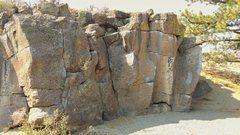 Rock Climbing Photo: All's quiet in September.
