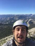 Rock Climbing Photo: Top of Cathedral Peak in Tuolumne