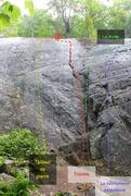 Rock Climbing Photo: Triplets!