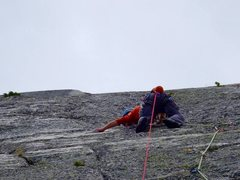 Rock Climbing Photo: The Crack Quest pitch 6