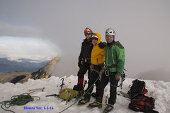Rock Climbing Photo: Illiniza Sur, January 1, 2014