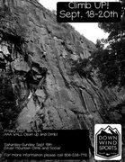 Rock Climbing Photo: Climb UP!