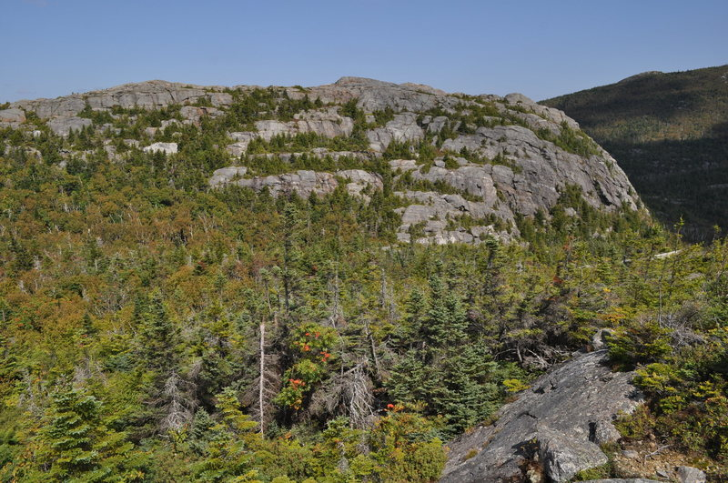 Rock Climbing Photo: Tumbledown north peak