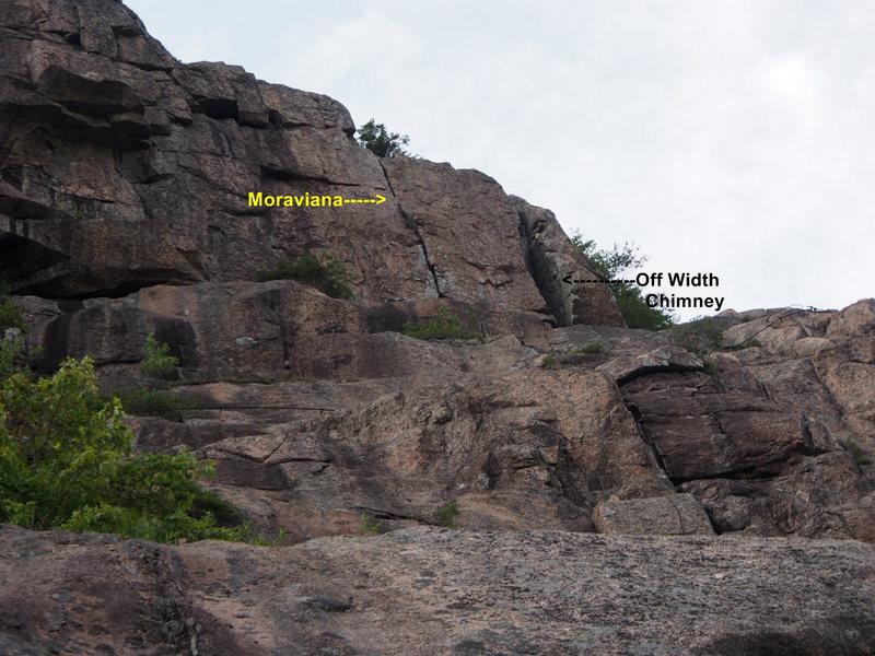 Rock Climbing Photo: Off Width Chimney