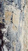 Rock Climbing Photo: The route!