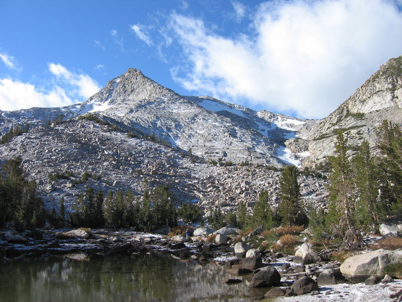 As seen from Baboon Lakes