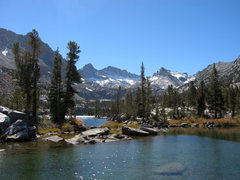 Rock Climbing Photo: Mt. Thompson (left) and Peak 12,486 seen from Blue...