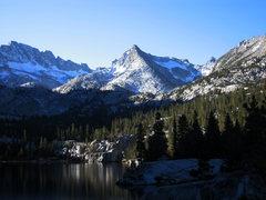 Rock Climbing Photo: Peak 12,486 from Blue Lake.