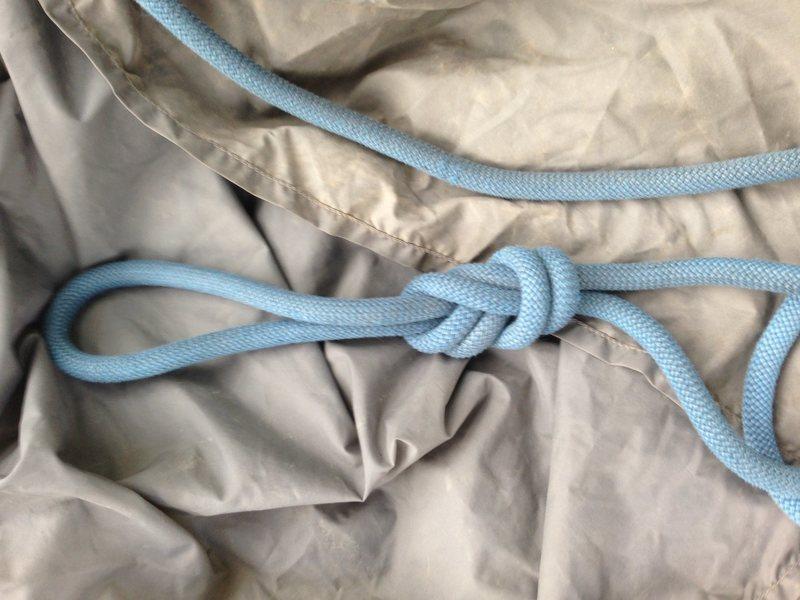 Rock Climbing Photo: a knot