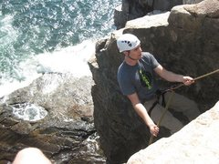 Rock Climbing Photo: Rap down