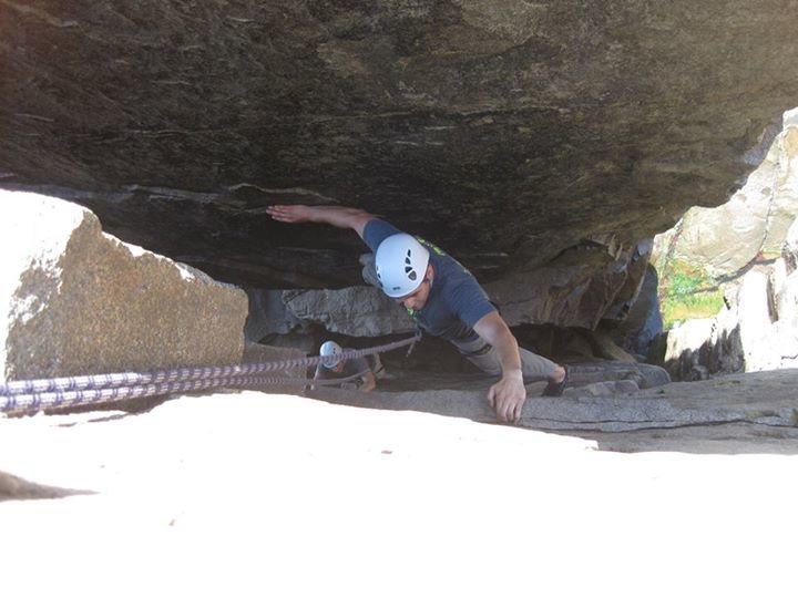 Rock Climbing Photo: Chimney time