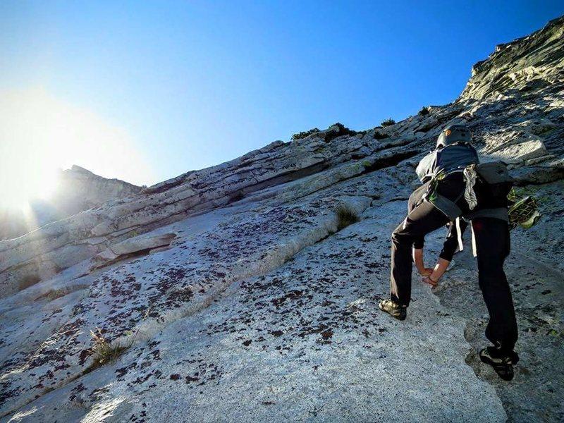 Rock Climbing Photo: TMC link up.
