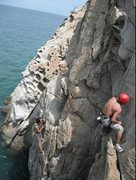 Rock Climbing Photo: no dws =( water to shallow