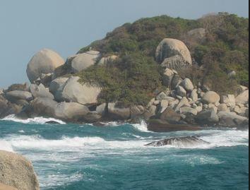 Rock Climbing Photo: bold rocks