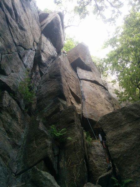 PJ climbing