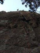 Rock Climbing Photo: bodhisattva, fun juggy climb