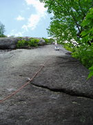 Rock Climbing Photo: P1 Bolt-in-the-Sky