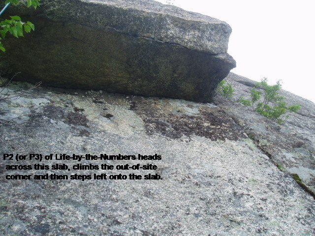 Rock Climbing Photo: Start of P3 of the Bolt-Life-Link-Up (P2 of Life-b...