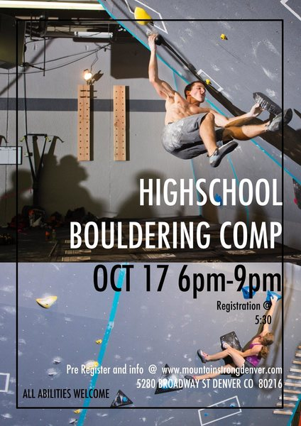 call or email us with any question or to register. www.mountainstrongdenver.com
