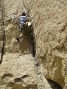 Rock Climbing Photo: Lower dihedral