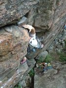 Rock Climbing Photo: Father Knows Best