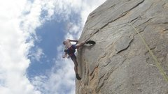 Rock Climbing Photo: Girls in the Mist 5.10d Photo by T.G.