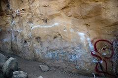 Rock Climbing Photo: Sculpture Crack Traverse, a greasy mess.