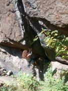 Rock Climbing Photo: the crack start