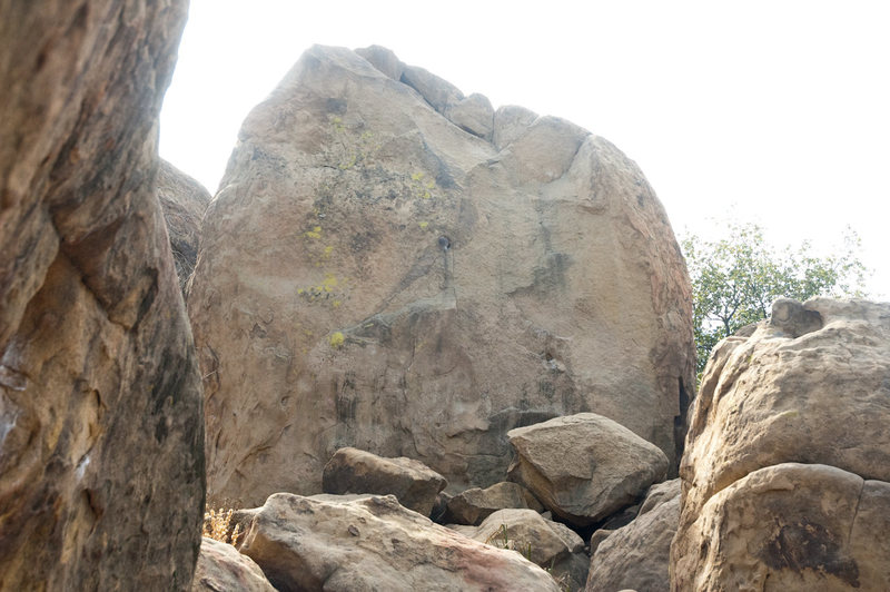 Rock Climbing Photo: earthquake problem