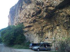 Rock Climbing Photo: Approach beta.