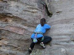 Rock Climbing Photo: Gettin ziggy with it!