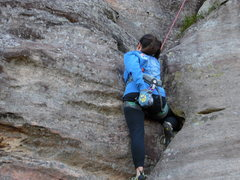 Rock Climbing Photo: On to the zag