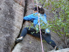 Rock Climbing Photo: All out assault!