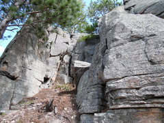 Rock Climbing Photo: Great beginner lead climb or access to top.
