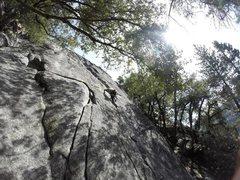 Rock Climbing Photo: up, up and away!
