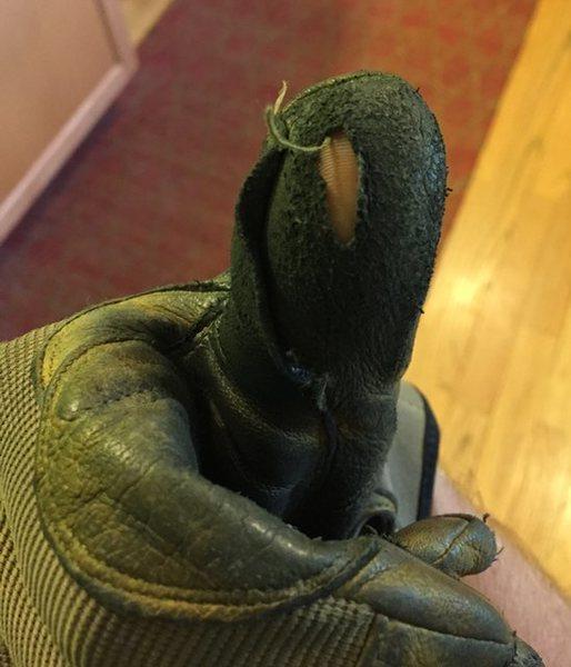 Rock Climbing Photo: glove