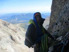 Rock Climbing Photo: diamond. cold