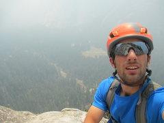 Rock Climbing Photo: tenaya fire in yosemite