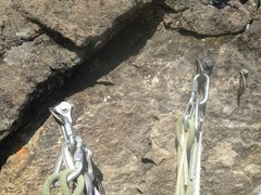 Rock Climbing Photo: P3 belay after
