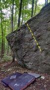 Rock Climbing Photo: Human Pony Girl.