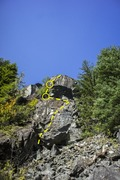 Rock Climbing Photo: View of the whole route