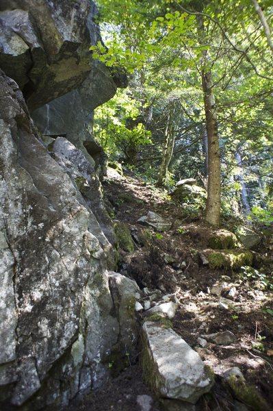 Rock Climbing Photo: Base area