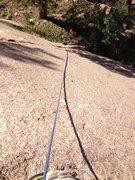 Rock Climbing Photo: Bottom of Murphy's Law