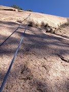 Rock Climbing Photo: Top of Murphy's Law