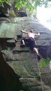 Rock Climbing Photo: Mossy Wall 1